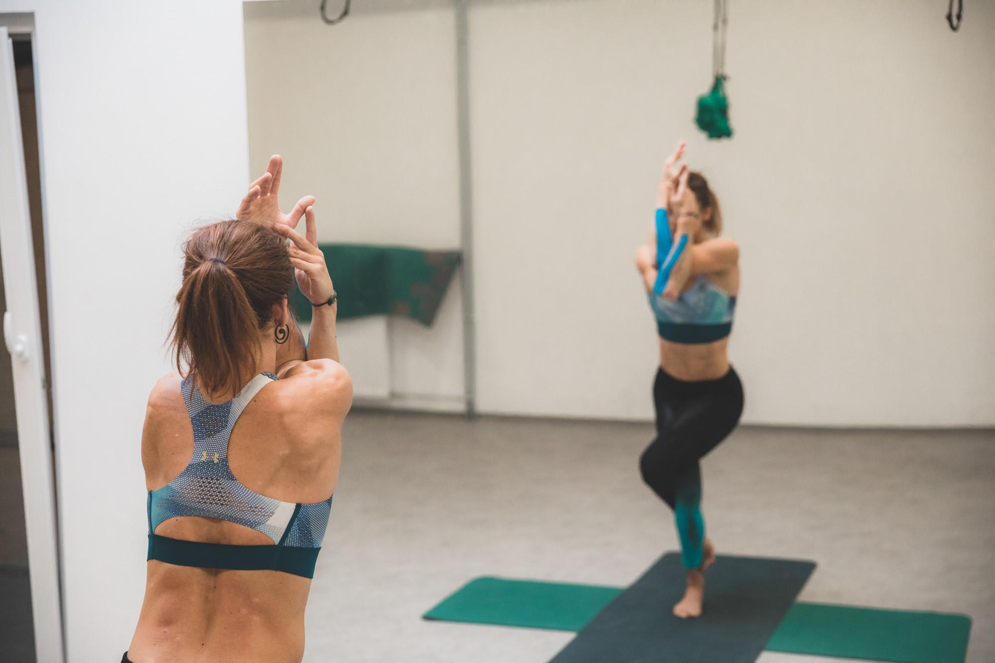 Brezplačna joga za plezalce