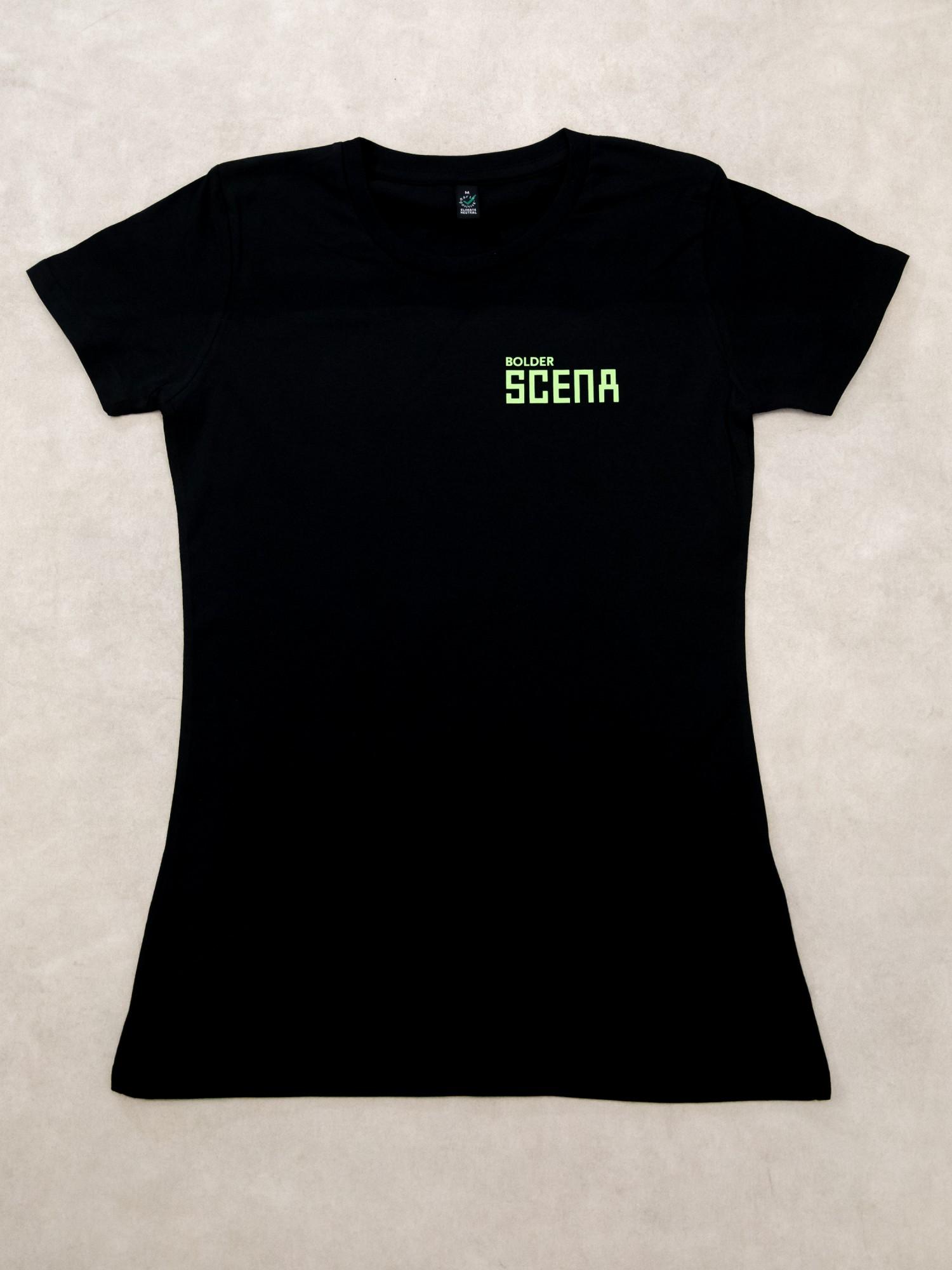 Scena T-shirt / black / W