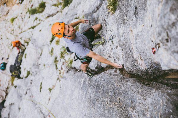 Pomladanski začetni tečaj plezanja v skali