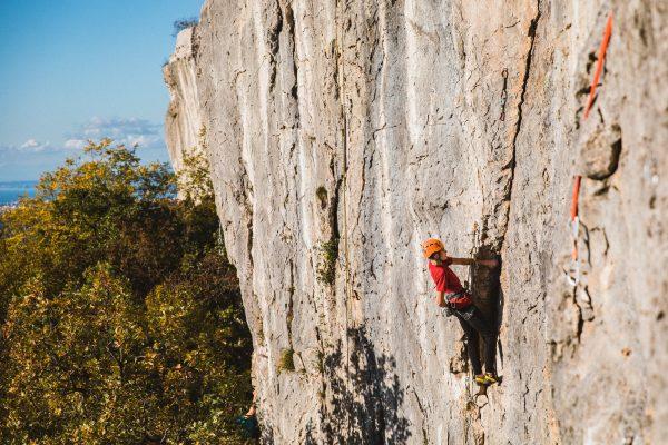 Tečaj plezanja v skali