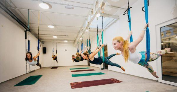 Uvodni uri aeriala in pilatesa
