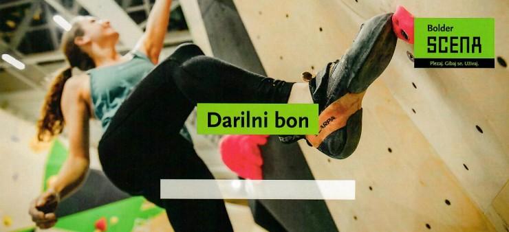 Darilni bon – plezanje