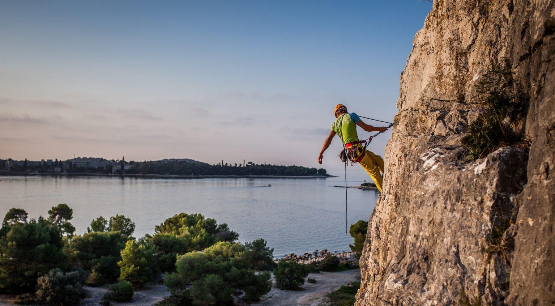Prijava na tečaj plezanja v skali